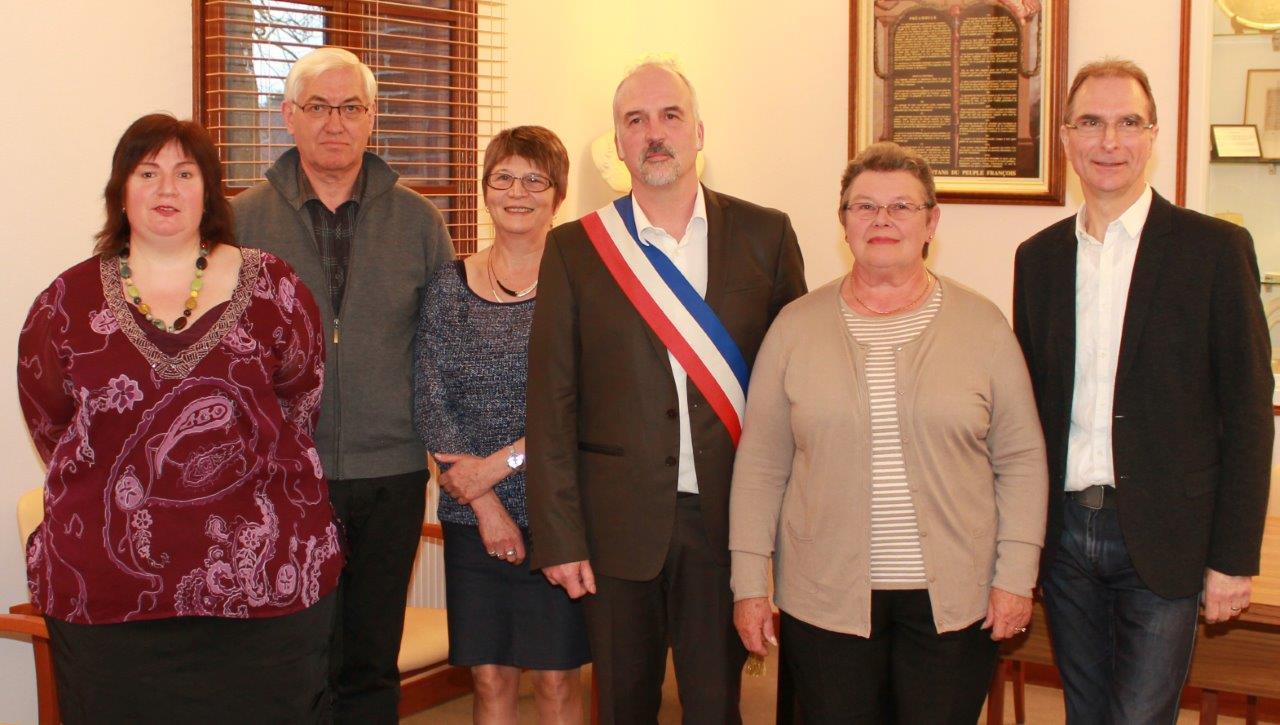 Le Maire et ses 5 adjoints