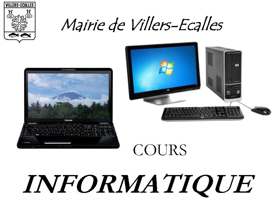 COURS INFORMATIQUE - Commune de Villers-Ecalles, village normand proche de Barentin entre Yvetot ...